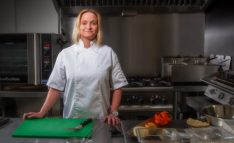 Chef Becky Stokes